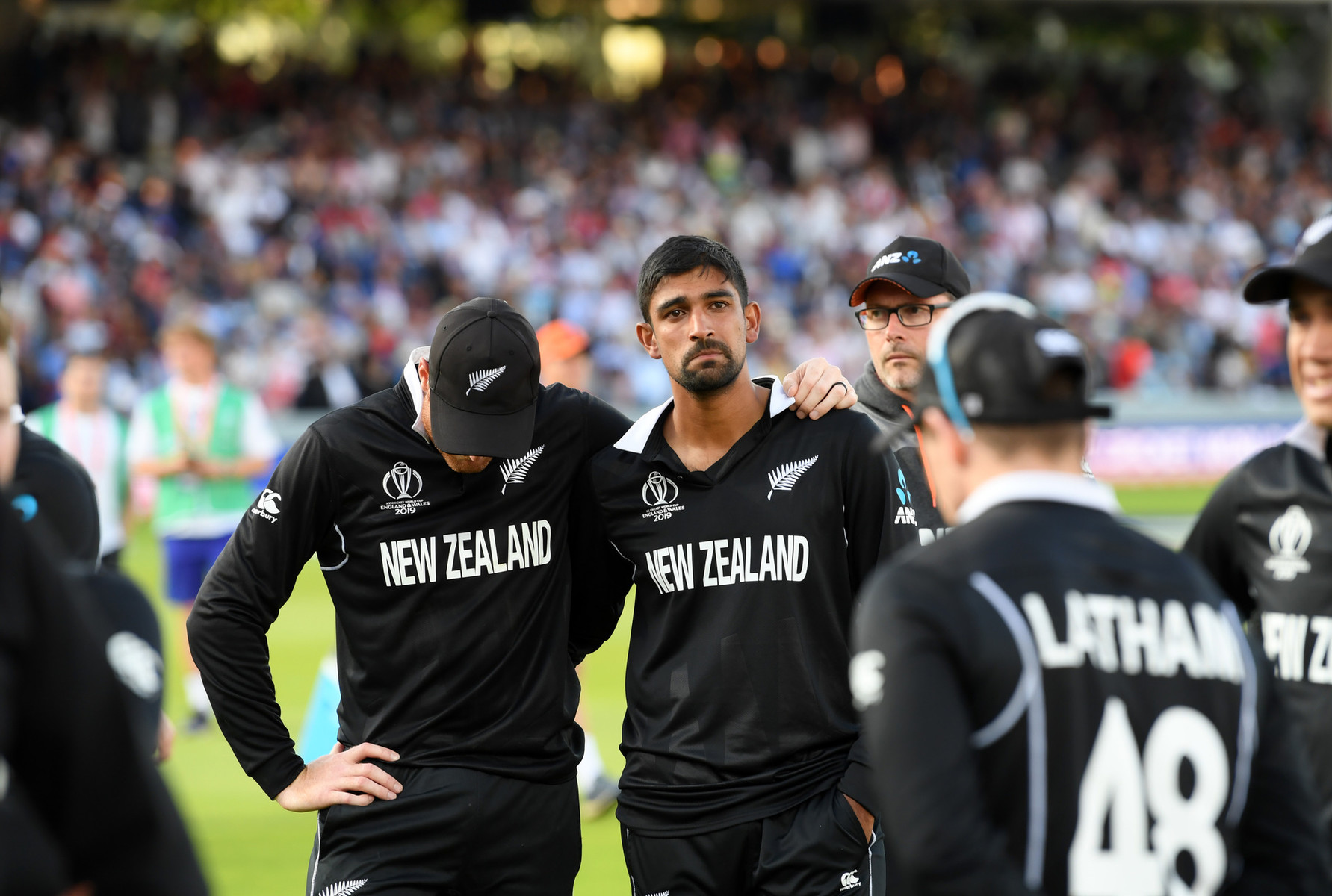 New Zealand after loosing the world cup final.